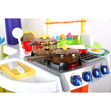 Bosonshop Family Portable Kitchen Baking Cooking Play Set