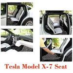 Bosonshop Tesla Model X-7 Seat Floor Mats Set  All Weather, Gray