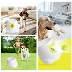 Bosonshop nteractive Ball Launcher for Dogs with Tennis Balls with remote control