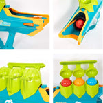 [New Year Flash Sale]   3 In 1 Snowball Launcher Gun Water Ballon Shooter Snowbattle Toy for Kids
