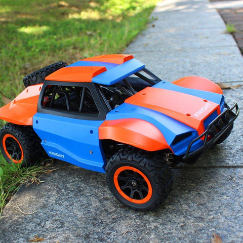 Bosonshop High Speed Race Toy RC Trucks 1/18 Scale 4WD Remote Control Car Vehicle Racing Monster Electric Buggy