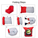 Bosonshop Inflatable Portable Hangout Sofa with Carry Bag Perfect for Camping