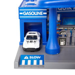 Bosonshop Educational Children's Gasoline Station Playset with Cars for Kids 3 and up