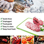 Bosonshop Automatic Thawing Plate Cutting Board Fast Frozen Food, Cooking Tools