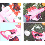 Bosonshop Snowball Launcher Winter Sport Game Pink