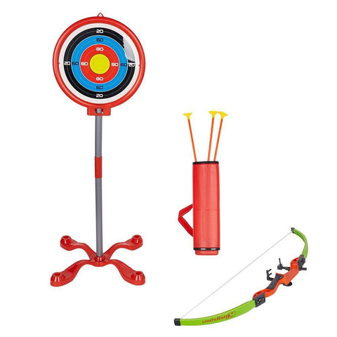 Bosonshop Archery Play Toy Set for Kids with Target Bow and Arrow