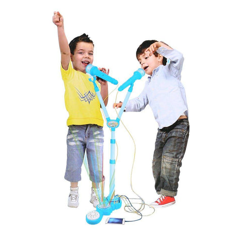 Bosonshop Children Musical Toy Karaoke Machine Kids Sing Toy Playset with MP3