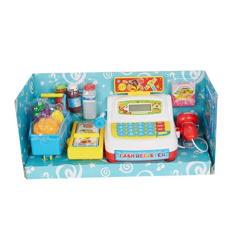 Bosonshop Pretend & Play Cash Register Toy for Kids