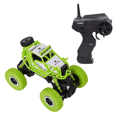 Bosonshop 2.4GHz Racing Cars RC Cars Remote Control Cars Electric Rock Crawler Radio Control Vehicle Off Road Cars Green