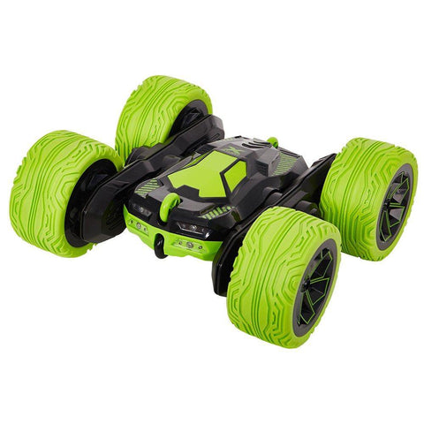 Bosonshop RC Cars Off-Road, 4WD Remote Control Monster Truck Rotate 360 Double Sided Race Car /Green