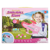 Bosonshop Shoots Snowball Winter Fight Toy Pink
