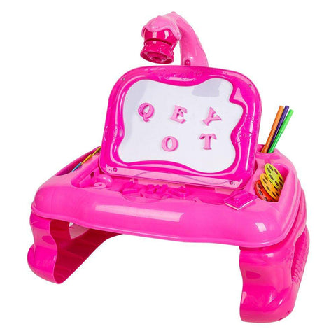 Bosonshop Projective Learning Desk Kids Art pad for Drawing