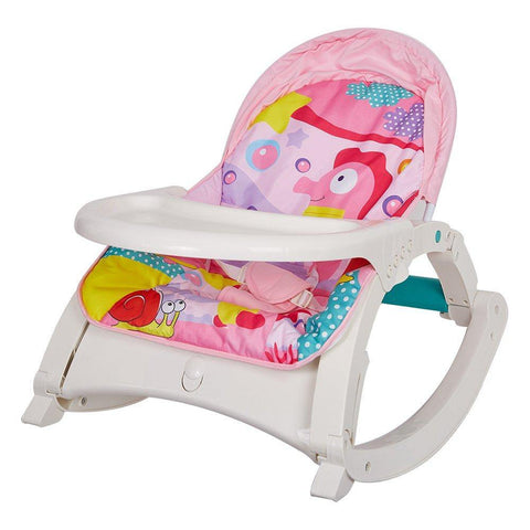 Bosonshop Newborn toToddler Portable Rocker with Dinner Table