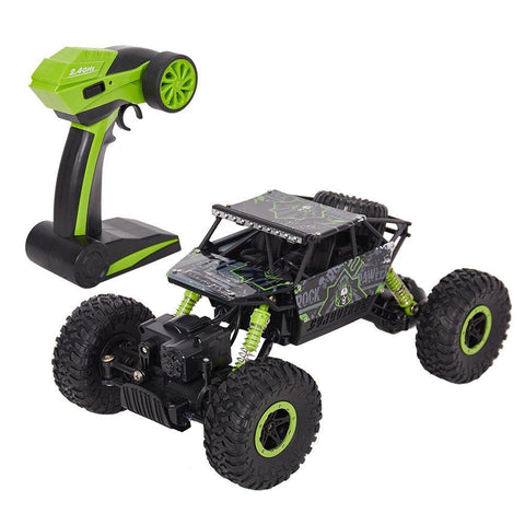 Bosonshop Remote Control Car 4WD Off Road Rock Crawler Vehicle 2.4 GHz