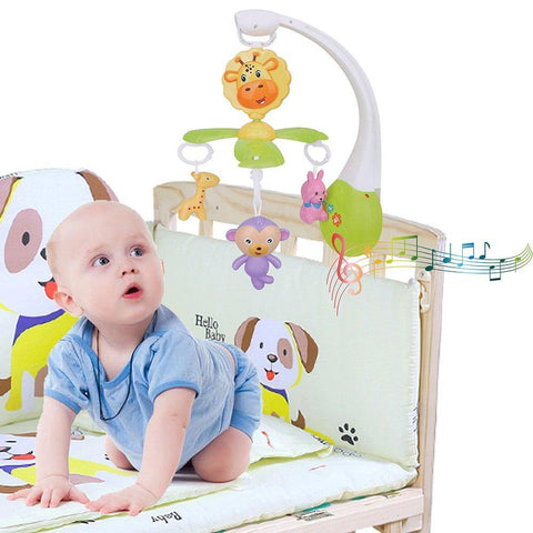 Bosonshop Infant Baby Mobile Crib Bed Bell DIY Music Box Kid Toys Gift