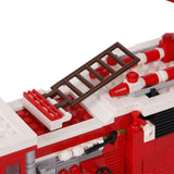 Bosonshop Fire Ladder Truck Series Building Blocks Fire Fight Playset Educational Toy