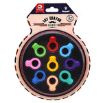Bosonshop Toddler Crayons Pack of 9 Colors Paint Crayons Baby Diamond Ring Shaped Non Toxic Doodle Toy