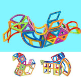 Bosonshop Preschool Toy Magnetic building blocks