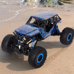 Bosonshop Electric RC Rock Crawler Car 4WD 4 Modes Steering Waterproof 2.4Ghz Radio Control Toy Monster Truck Off Road