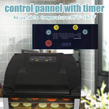 6-Tray Food Dehydrator Machine Food Dryer with Digital Adjustable Timer, Temperature Control & LED Display for Fruit, Vegetable, Jerky & Meat