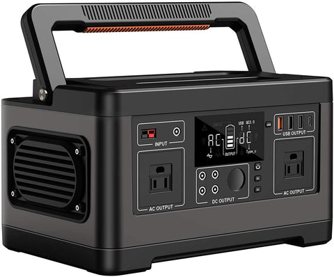 Portable Power Station 500Wh, Multipurpose Portable Power Supply For Home, Travel And Camping With Type-C
