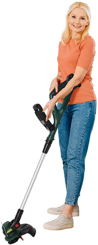 "20V Cordless String Trimmer/Edger, Adjustable Head & Handle, 10"" Cutting Path, 2.0Ah Battery & Charger Included"
