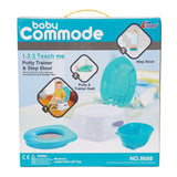 Bosonshop 3 in 1 Comfort Potty Training Seat Step Stool Potty