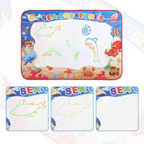 Water Doodle Mat 39 x 28 inches Water Colors Drawing Board for Children Educational Toys for Kids Boys Girls Age 3 4 5 6 7 8 Year Old