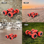 Bosonshop 2.4G Stunt RC Car Double Sided Rotating Tumbling 4WD Remote Control Monster Truck