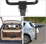 "3 Bike Rack Hitch Mount Folding Bicycle Carrier 2"" Receiver Car SUV"