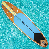 SUP Inflatable Stand Up Paddle Board with ISUP Accessories Backpack Paddle Pump Leash Fin and Repair Kit for Youth & Adult