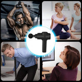 Massage Gun Deep Tissue Percussion Muscle Massager, Black