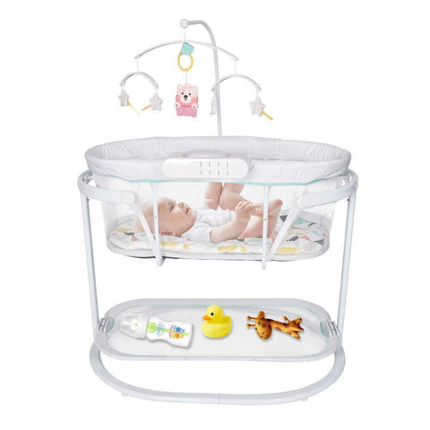 Baby Cradle for Newborn Soothing Motions Bassinet