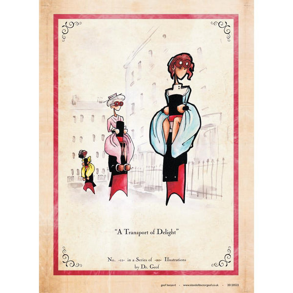 "11/20 ""A Transport of Delight"" - A3 Print-Doctor Geof"