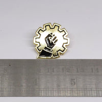 Love Steampunk Hate Colonialism - Charity Enamel Pin Badge