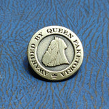 Member of the Q.F.E. - Die Struck Metal Pin Badge