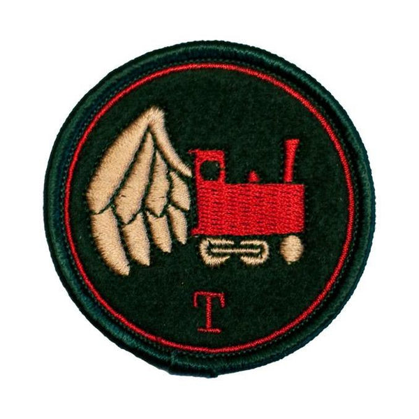 """Airborne 'T' Train"" Embroidered Patch-Doctor Geof"