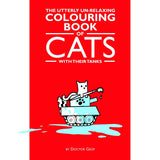 """Cats With Their Tanks"" Colouring Book-Doctor Geof"