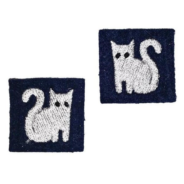 "First Tea Company ""Kitten"" Pips Pair (Type 2)-Doctor Geof"