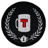 """First Tea Company, Official Insignia"" Embroidered Patch-Doctor Geof"