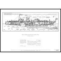 """Plan of Turbinia powered by the Lambton Worm"" A1 Print-Doctor Geof"