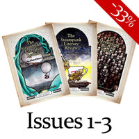 Steampunk Literary Review BUNDLE - Issues #001-003-Doctor Geof