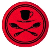 Official Tea Duelling - Embroidered Patch
