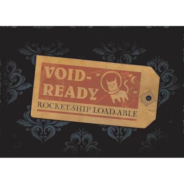 """Void Ready"" - Steampunk Postcard-Doctor Geof"