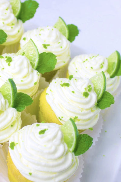 St. Patty's Day Protein Cupcake