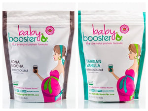 Baby Booster Sampler Pack (Kona Mocha and Tahitian Vanilla)