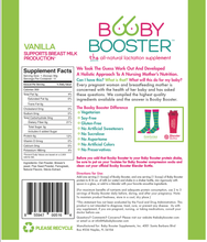 Booby Booster Lactation Supplement