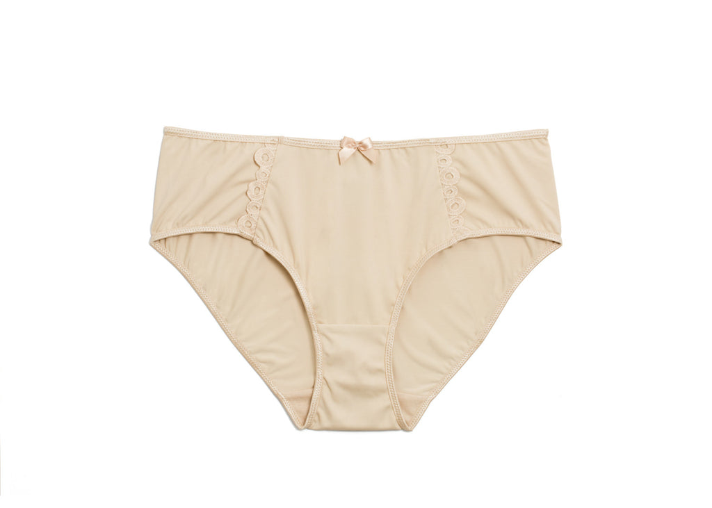 Full Coverage Panty Beige