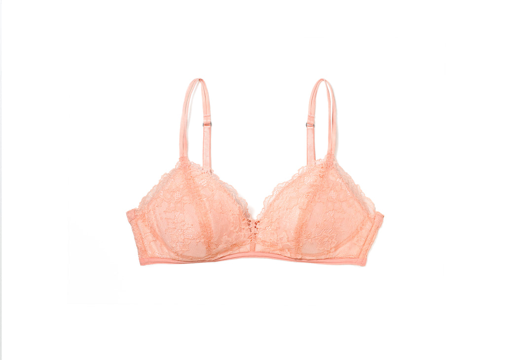 Adelina Non-Wired Bra 18 Coral Pink