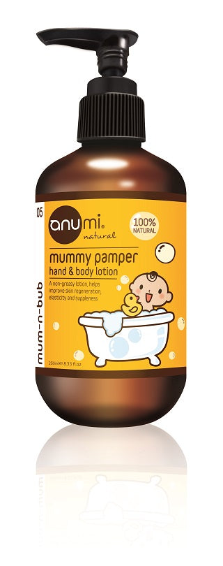 Mummy Pamper Hand and Body Lotion 抗乾敏身體潤膚乳 250ml